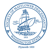 WA Society Mayflower Descendants Logo